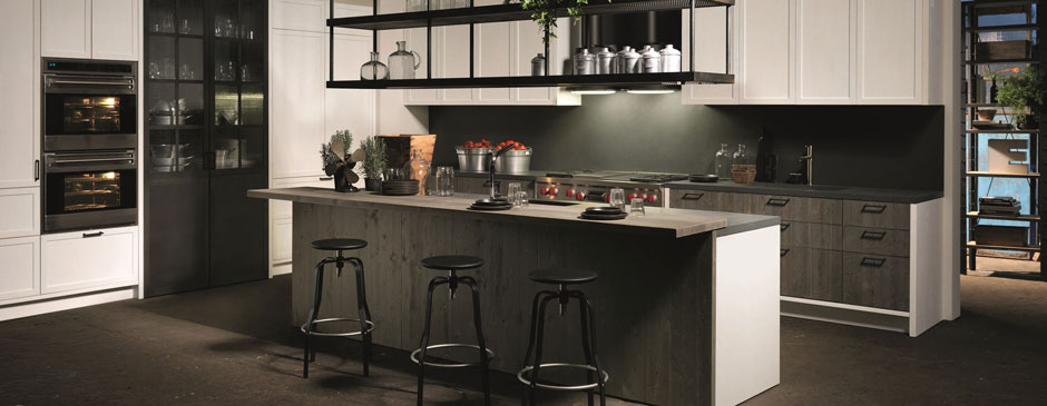 Factory Kitchen With Island Aster Cucine 2